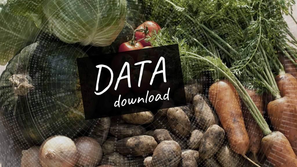 統計表ダウンロード(2020年度版 野菜作編)